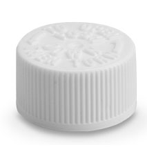 THIN SYRINGE CHILD RESISTANT CONTAINER CAPS